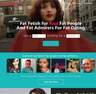 obese dating website